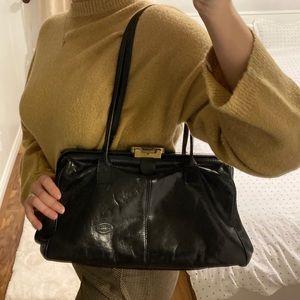 Vintage 1980's Italian leather purse